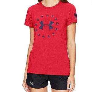 Under Armour Women's Freedom T-shirt Large